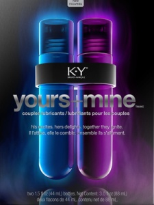 KY Yours + Mine Advertisement